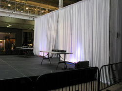 stage pipe and drape