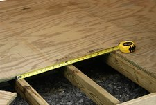 South Party Rental Plywood Flooring